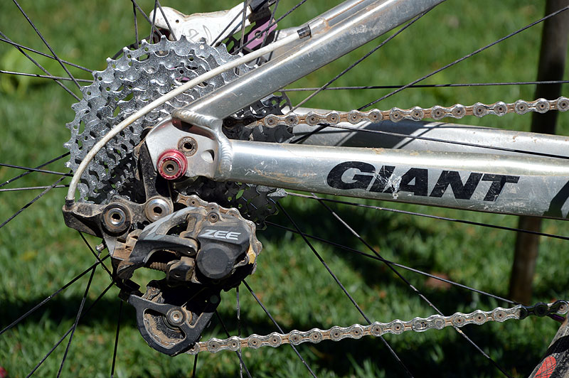 Here's what your Zee rear derailleur should look like in the 11t: