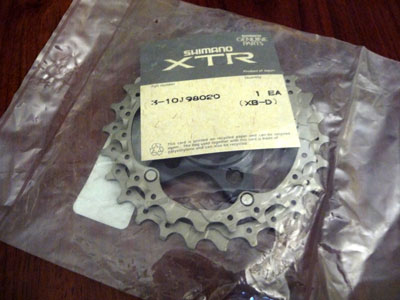 Picture of XTR M952 cassette 20 - 23 t spider assembly