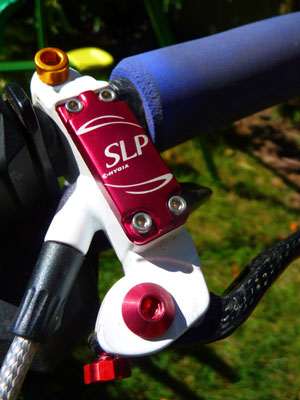 SLP brake lever with alu pinch bolt and lever pivot bolt