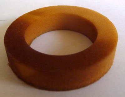Pic of the Magura Hugin elastomer negative spring: