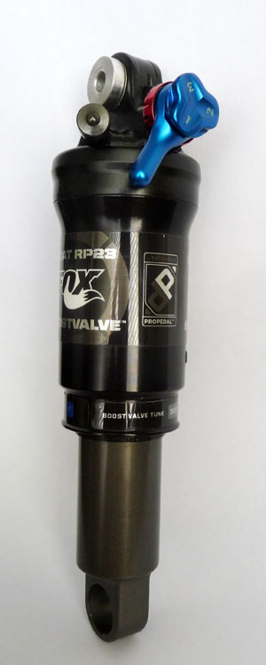 Fox RP23 Rear Shock with Boost Valve