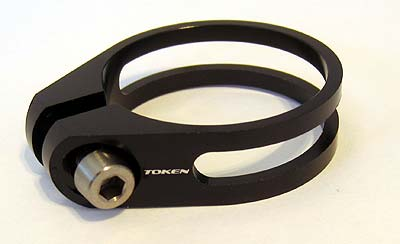 Token 31.8mm seat post clamp @ 8g