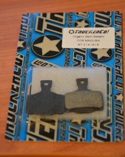 TruckerCo brake pads for Magura MT series brakes in packet