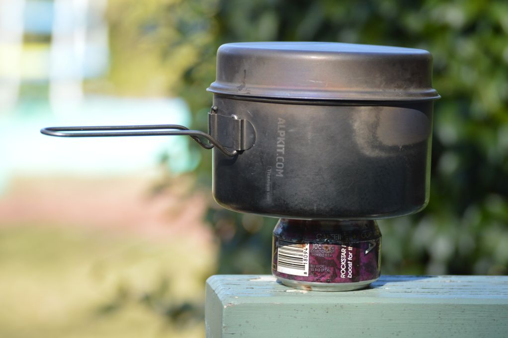 Ultralight camp stove system